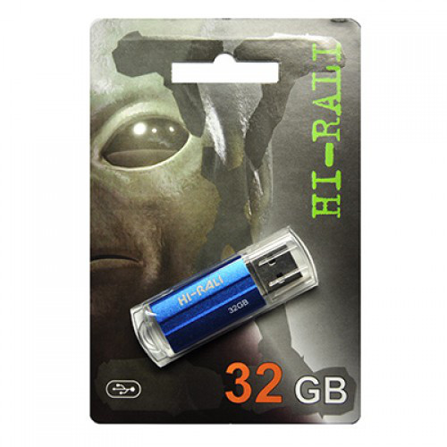 Флешка Hi-Rali 32GB Corsair series Blue