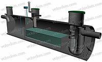 Сепаратор нефтепродуктов Np-25 (25 л/с)