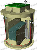 Сепаратор нефтепродуктов Nl-4 (4 л/с)