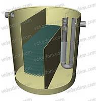 Сепаратор нефтепродуктов N-5 (5 л/с)