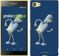 """Чехол на Sony Xperia Z5 Compact E5823 Футурама. Бендер """"665c-322-2448"""""""