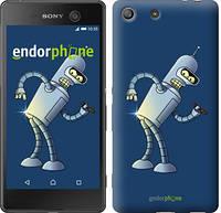 """Чехол на Sony Xperia M5 Футурама. Бендер """"665c-217-2448"""""""