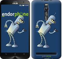 "Чехол на Asus Zenfone 2 ZE551ML Футурама. Бендер ""665c-122-2448"""