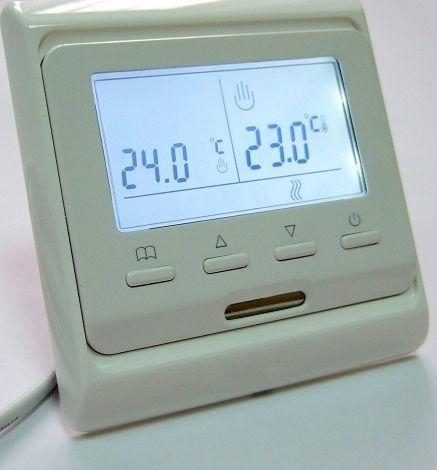Программируемый терморегулятор М6.716 (E51) с дисплеем, фото 1