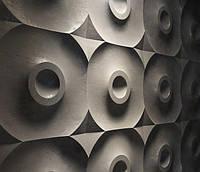 """Пластикова форма для 3d панелей """"Мішень"""" 50 * 50 (форма для 3д панелей з абс пластика)"""
