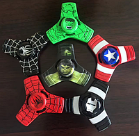 Спиннер фиджет Marvel металлический человек паук Spider MT-12