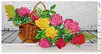 """""""Чарівні троянди"""" АП-9а схема для часткової вишивки"""