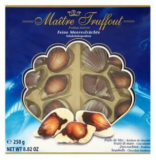Конфеты Pralinen (Шоколадное пралине) Maitre Truffout Австрия 250г