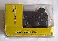 Игровой манипулятор (джойстик) PS2 беспроводной (желтый блистер)
