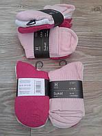 Носки женские х/б махровая стопа House, Финляндия-Турция, размер 34-36, ассорти