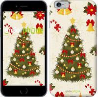 "Чехол на iPhone 6 Новогодняя елка ""4198c-45-2448"""