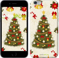 "Чехол на iPhone 6s Plus Новогодняя елка ""4198c-91-2448"""