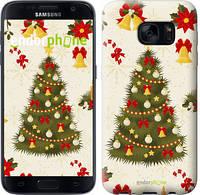 "Чехол на Samsung Galaxy S7 G930F Новогодняя елка ""4198c-106-2448"""