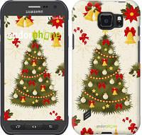 """Чехол на Samsung Galaxy S6 active G890 Новогодняя елка """"4198u-331-2448"""""""