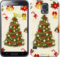 "Чехол на Samsung Galaxy S5 g900h Новогодняя елка ""4198c-24-2448"""