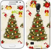 """Чехол на Samsung Galaxy S4 mini Новогодняя елка """"4198c-32-2448"""""""