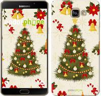 "Чехол на Samsung Galaxy A9 A9000 Новогодняя елка ""4198u-107-2448"""