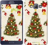 "Чехол на Samsung Galaxy A7 A700H Новогодняя елка ""4198c-117-2448"""