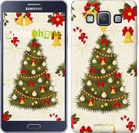 "Чехол на Samsung Galaxy A5 A500H Новогодняя елка ""4198c-73-2448"""