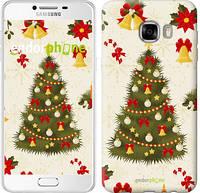 """Чехол на Samsung Galaxy C7 C7000 Новогодняя елка """"4198u-302-2448"""""""