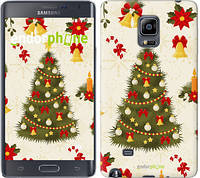 "Чехол на Samsung Note Edge SM-N915 Новогодняя елка ""4198u-128-2448"""