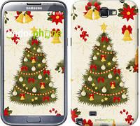 "Чехол на Samsung Galaxy Note 2 N7100 Новогодняя елка ""4198c-17-2448"""