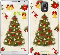 "Чехол на Samsung Galaxy Note 3 N9000 Новогодняя елка ""4198c-29-2448"""