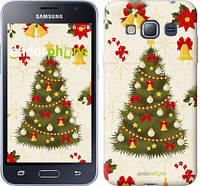 "Чехол на Samsung Galaxy J1 (2016) Duos J120H Новогодняя елка ""4198c-262-2448"""