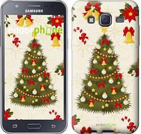 """Чехол на Samsung Galaxy J5 J500H Новогодняя елка """"4198c-100-2448"""""""