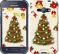 """Чехол на Samsung Galaxy J1 Ace J110H Новогодняя елка """"4198c-215-2448"""""""