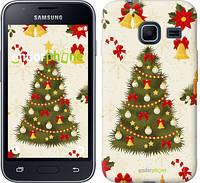 """Чехол на Samsung Galaxy J1 Mini J105H Новогодняя елка """"4198c-258-2448"""""""