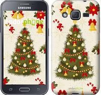 """Чехол на Samsung Galaxy J2 J200H Новогодняя елка """"4198c-190-2448"""""""