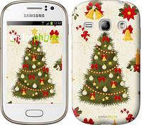"Чехол на Samsung Galaxy Fame S6810 Новогодняя елка ""4198u-254-2448"""