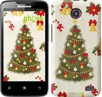 "Чехол на Lenovo A820 Новогодняя елка ""4198c-68-2448"""