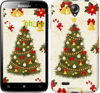"Чехол на Lenovo A850 Новогодняя елка ""4198c-79-2448"""