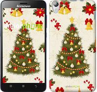 """Чехол на Lenovo S850 Новогодняя елка """"4198c-78-2448"""""""