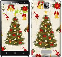 "Чехол на Lenovo S856 Новогодняя елка ""4198u-235-2448"""