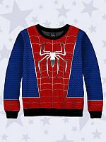 Детский свитшот Человек-паук логотип