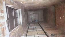 Подъёмник грузовой электрический установка внутри здания в существующей кирпичной шахте заказчика г/п 600 кг., фото 3