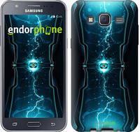 "Чехол на Samsung Galaxy J5 J500H Молнии в цилиндре ""120c-100-2448"""