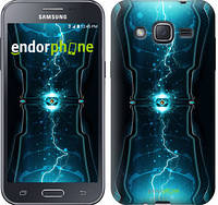 "Чехол на Samsung Galaxy J2 J200H Молнии в цилиндре ""120c-190-2448"""