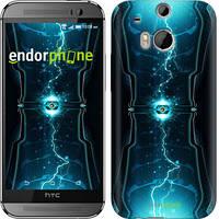 """Чехол на HTC One M8 Молнии в цилиндре """"120c-30-2448"""""""