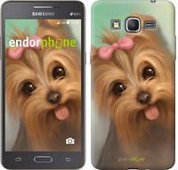"Чехол на Samsung Galaxy Grand Prime G530H Нарисованный йоркширский терьер ""928c-74-2448"""