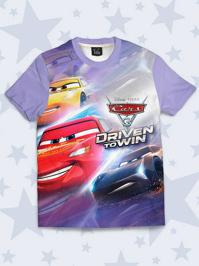 Детская футболка Cars 3