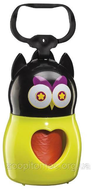 Контейнер для гигиенических пакетов DUDU' ANIMALS OWL Ferplast