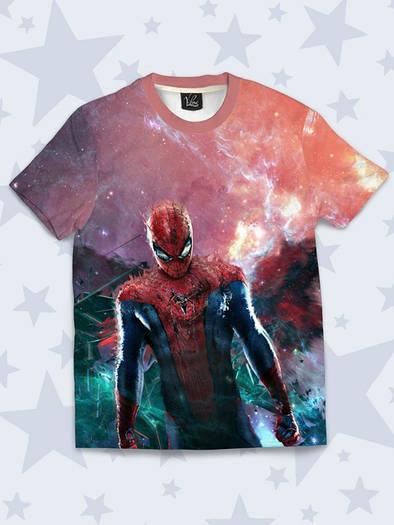 Детская футболка Spider-Man art