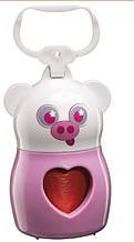 Контейнер для гигиенических пакетов DUDU' ANIMALS PIG Ferplast