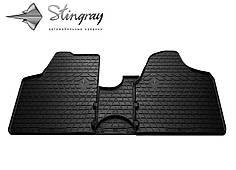 Citroen Jumpy II 2007- Комплект из 3-х ковриков Черный в салон. Доставка по всей Украине. Оплата при получении