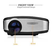 Портативный мини  LED-проектор Cheerlux С6 Яркость 1200 люмен Распродажа