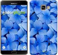 """Чехол на Samsung Galaxy A9 A9000 Синие цветы """"526u-107-2448"""""""